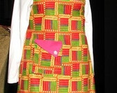 Happy Kwanzaa Full Apron