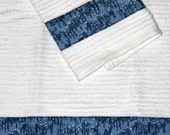 Stopping By Woods on Snowy Evening Towel Set (set of 2)