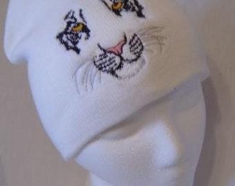 Tiger Face Beanie Skullcap Hat