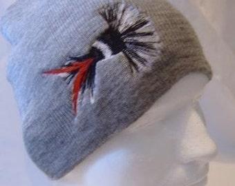Moth Fishing Fly Lure Beanie Skullcap Hat