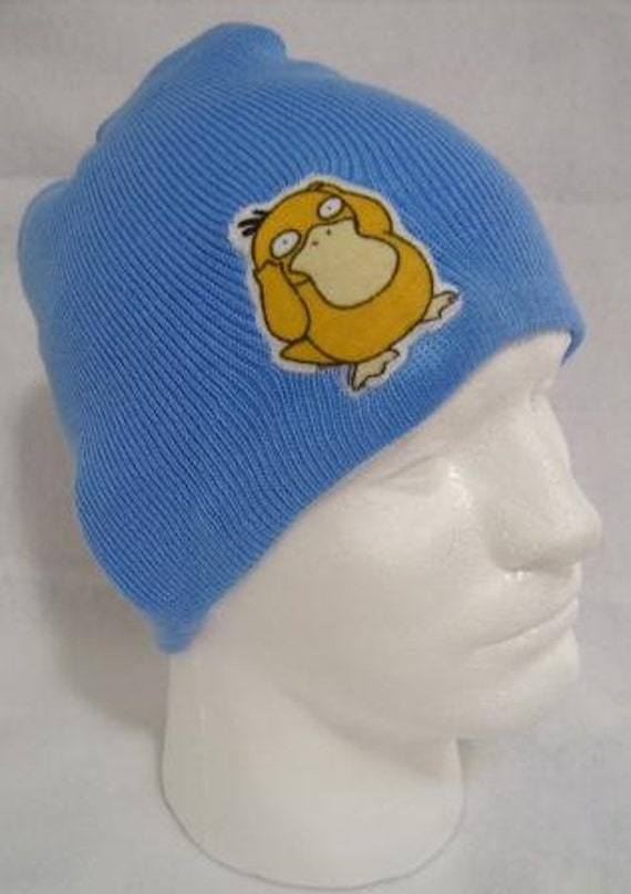 Pokemon Psyduck Beanie Skullcap Hat