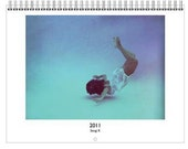 2011 A3 Wall Calendar: Water Portrait themed