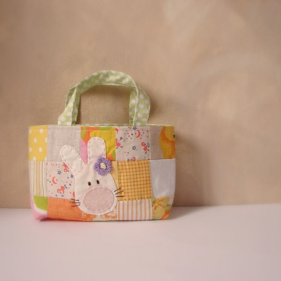 Easter bag yellow patch