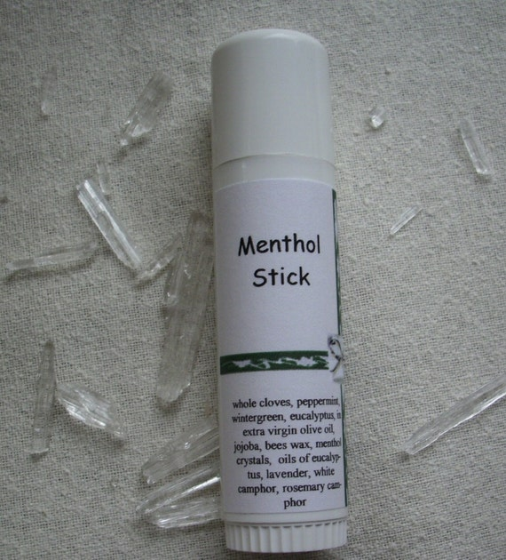 Herbal Salve: Mentholated Chest Rub, Tube
