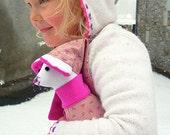 Linen Girl Mouse -Maisie-Ready to ship
