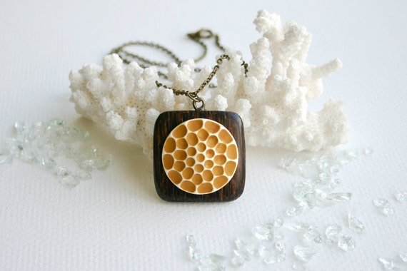 RESERVED - The Beekeeper's Heart - necklace