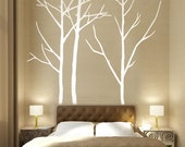 Wall Art Vinyl Decal Sticker Home Style - A3 Forest Three Trees 101