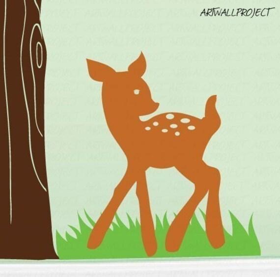 Wall Art Vinyl Decal Sticker Home Kids Tree by artwallproject