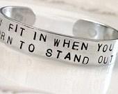 Handstamped Dr. Seuss Part 2 Bracelet