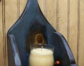 Primitive Candle Wall Box Sconce
