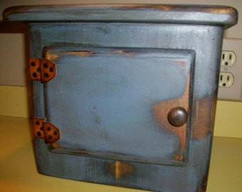 Primitive Coffee CANISTER Can Jar Cover - ANY COLOR