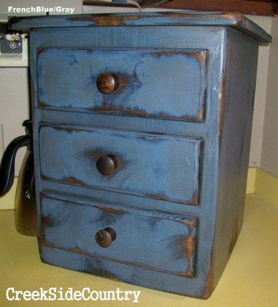 Primitive Grungy Wood Coffee Maker Cover