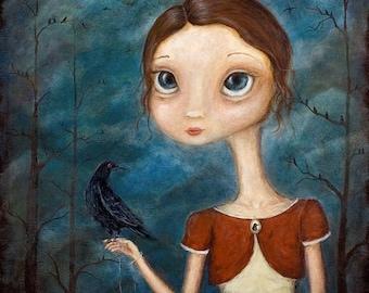 The Crow Keeper - 8x10 print