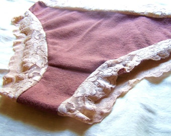 Lovely Lacey elemental hemp/organic cotton undies LOWRISE