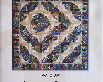 Quilt Pattern - One Classy Cabin wall hanging