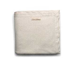 Handmade Organic Cotton Baby Flannel Blanket