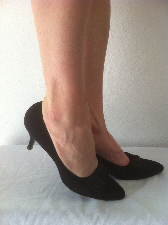 CYBER MONDAY SALE // 1950 shoes  - vintage 50s shoes - Hill and Dale - 6.5 - 7