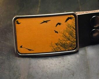 Bird belt buckle for men women