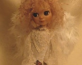 EVER... Angel Kindred ooak Art Doll -  RESERVED for PJ