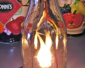 Vintage lighted Milk Bottle