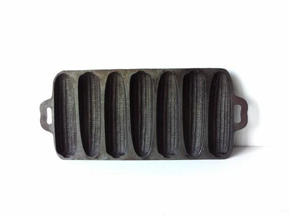 Vintage Cast Iron Cornbread Mold by EchoesOfCharlotte on Etsy