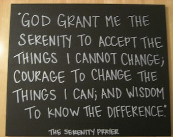 The Serenity Prayer (2)