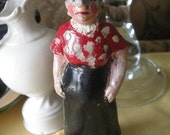 Mother In Law Vintage Chalkware Figurine