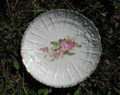 Embossed Victorian Stoneware Large Antique Plate Platter 1920s