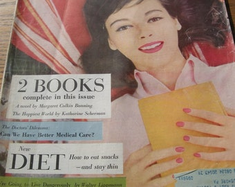 August 1956 Womans Home Companion Magazine