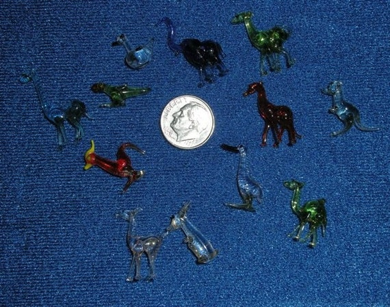 Collectible Glass Animal Figurines