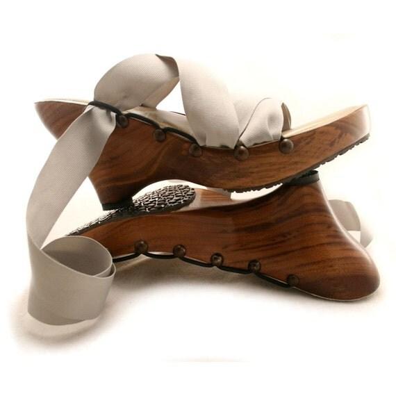 SALE - Size 10W - High Walnut Point Mohop Handmade Shoes