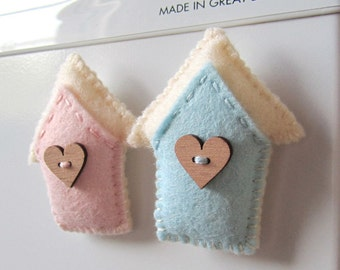 SUPER CUTE PROMO : Little House of Love Magnets
