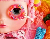 Custom resin Blythe Pull ring - mix and match your own sprinkles glitters and colors