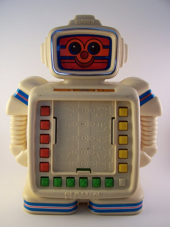 Vintage Toys From The 80s : Vintage alphie ii robot toy s