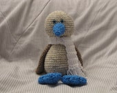 Amigurumi Soar the Blue-Footed Booby Bird Crochet Pattern