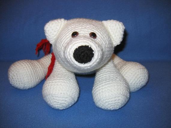 Amigurumi Flurry the Polar Bear Crochet Pattern Save the
