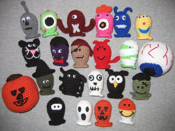 The COMPLETE Halloween Bowling Set - Crochet Patterns