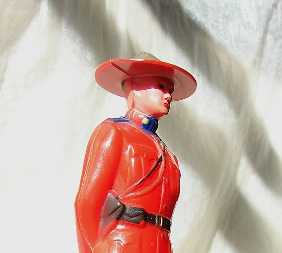 Royal Canadian Mounted Policeman Souvenir Toy 1950s Reliable