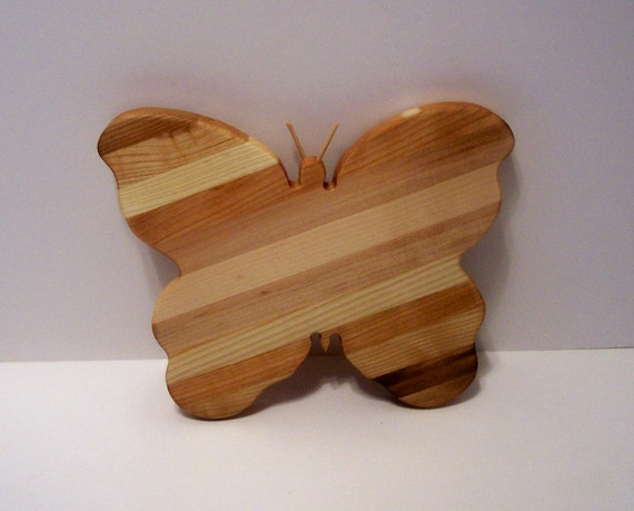 Butterfly Cheese Cutting Board