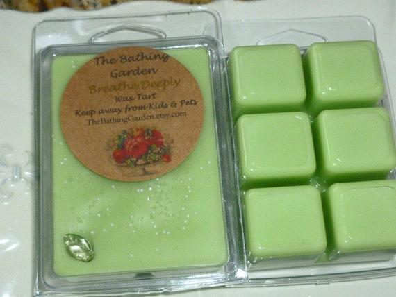 Breathe Deeply Wax Tart, Great for Allergies and colds.