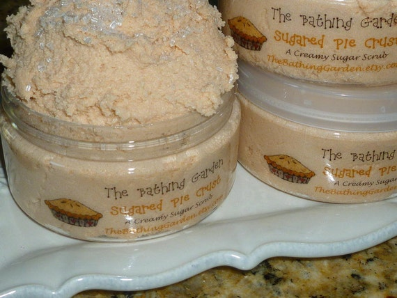 Sugared Pie Crust Sugar Scrub, 4 plus ounces, Made with real Shea Butter