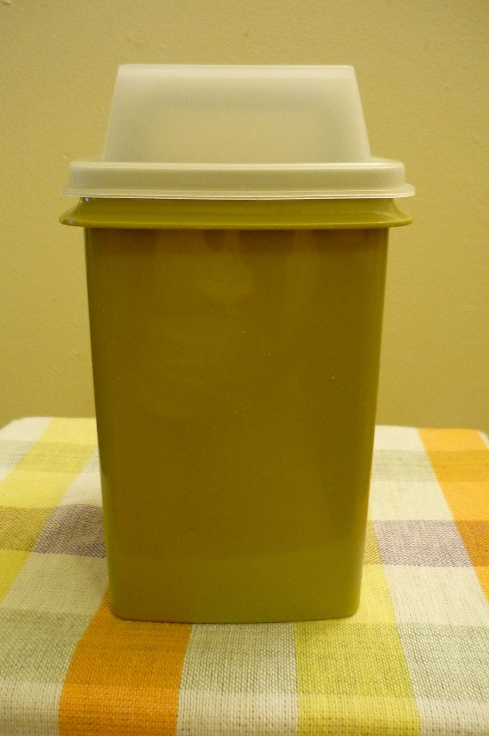 Vintage Tupperware Pickle Olive Vegtable Container In