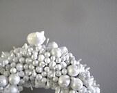 frosty white berry wreath