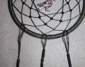 Raven Dreamcatcher - Reserved for Deborah C.