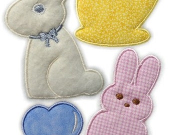 Instant Digital Download 4X4 Set Goodies Candies n Cakes Machine Embroidery Applique Designs