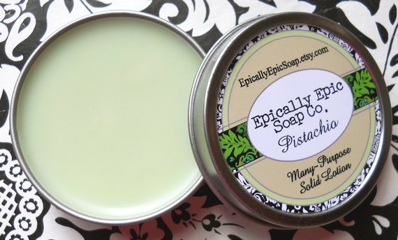 Pistachio Many Purpose Solid Lotion