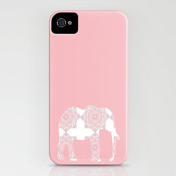 Elephant on Pink Phone Case -   iPhone 6S, iPhone 6 Plus, Samsung Galaxy s6, Elephant Gifts, Gifts for her