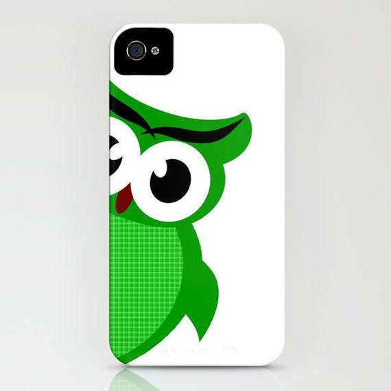 Peek-a-boo owl Phone Case - owl lover, iPhone 5,  iPhone 6S, iPhone 6 Plus, Samsung Galaxy S6, Owl Lovers, Gift Ideas, Gift for teenagers