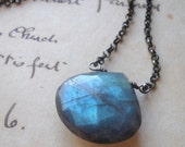 Dark Night Labradorite Necklace