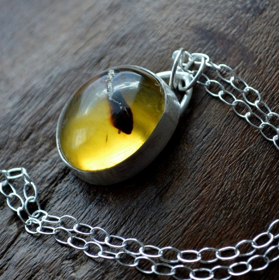 Baltic Amber Necklace Sterling Silver Metalwork